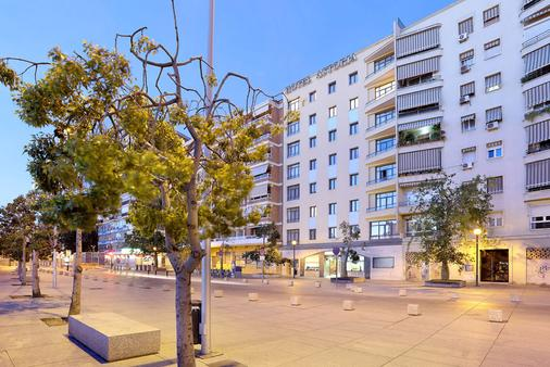 Exe Astoria - Málaga - Rakennus