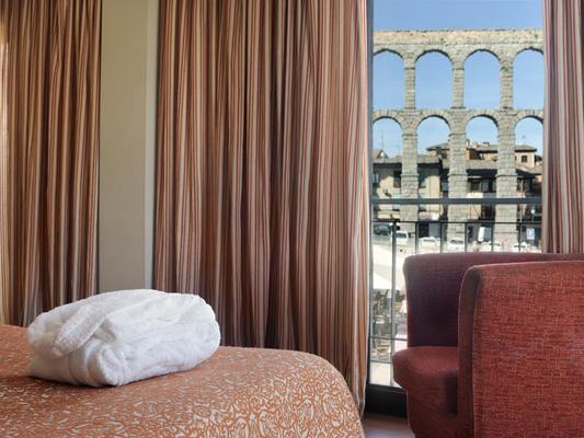 歐洲之星水道橋廣場酒店 - 塞戈維亞 - 塞哥維亞 - 臥室
