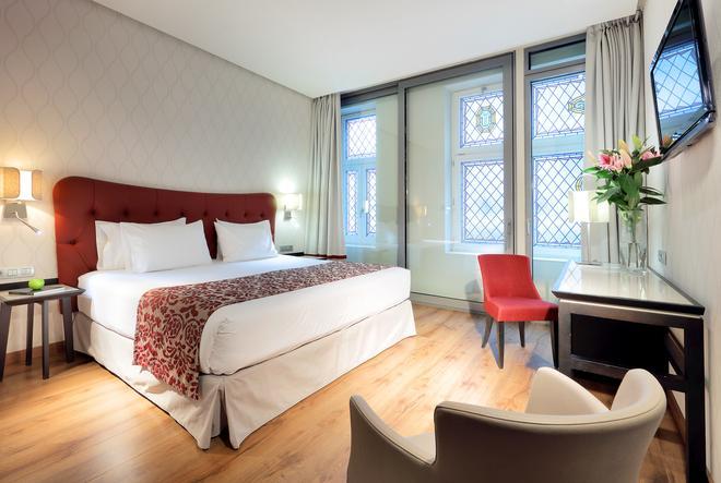 市長廣場歐洲之星酒店 - 馬德里 - 馬德里 - 臥室