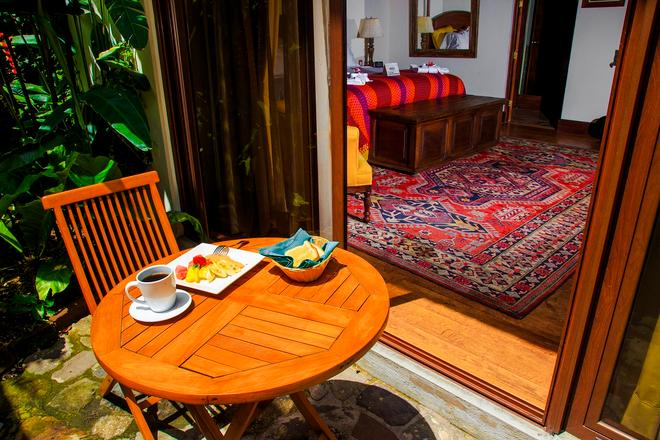 Porta Hotel Antigua - Antigua - Parveke