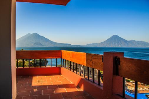 Porta Hotel del Lago - Panajachel - Parveke