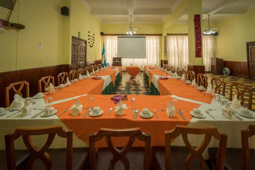 Hotel Pan American - Ciudad de Guatemala - Banquet hall