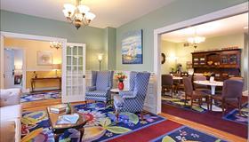 Beech Tree Inn & Cottage - Ньюпорт - Гостиная