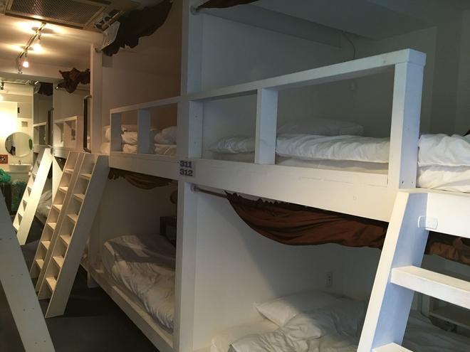 Senba Hostel - Osaka - Bedroom