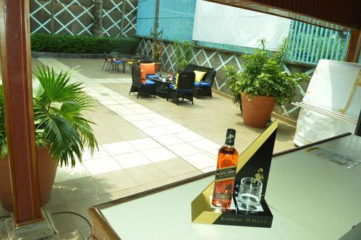 Hotel Franco - Yaoundé - Patio