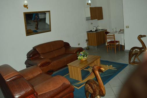 Hotel Franco - Yaoundé - Living room