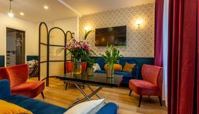 Hotel De l'Europe Belleville - Paris - Sala de estar
