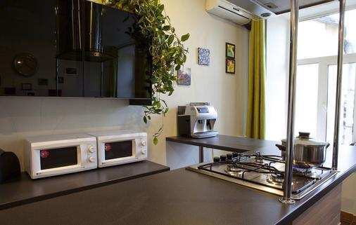 All Faces Hostel - Saint-Pétersbourg - Cuisine