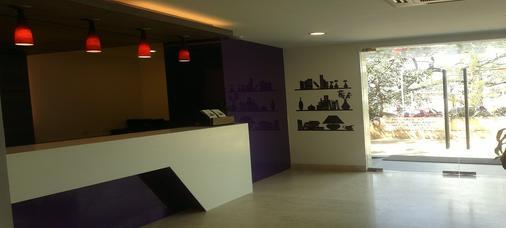 The Urban Hotel - Bengaluru - Front desk
