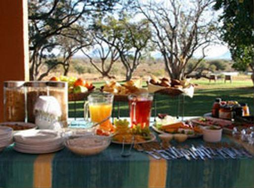 The Bush House - Madikwe Nature Reserve - Food