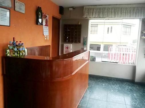 Posada del Rey - Lima Airport Hostel - Lima - Front desk