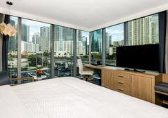 亞頓布里克爾邁阿密酒店 - 邁阿密 - 邁阿密 - 臥室