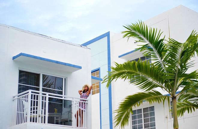 佩斯塔納南灘酒店 - 邁阿密海灘 - 邁阿密海灘 - 陽台