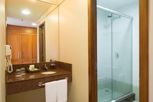 Hotel Laghetto Allegro Alpenhaus - Gramado - Bathroom