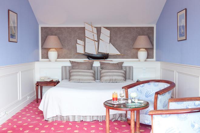 Manoir De Lan Kerellec - Trébeurden - Schlafzimmer