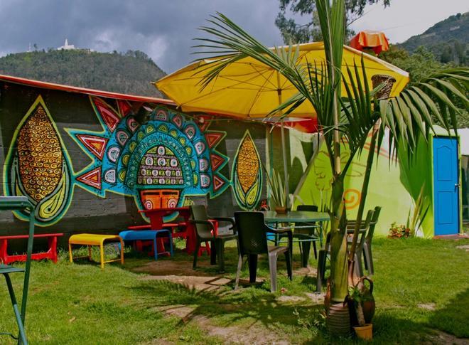Ulucaho - Hostel - Bogotá - Patio