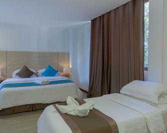 Aquzz Inn - Маафуші - Спальня