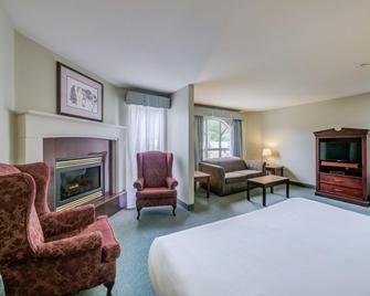 Harrison Lake Hotel - Harrison Hot Springs - Slaapkamer