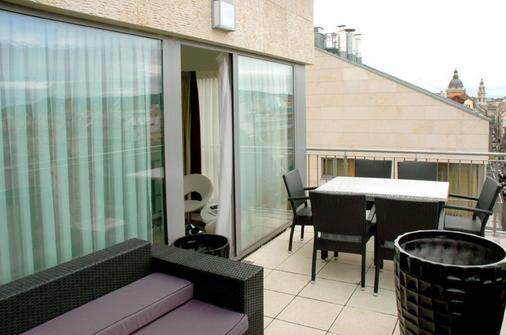 布利斯健康酒店 - 布達佩斯 - 布達佩斯 - 陽台
