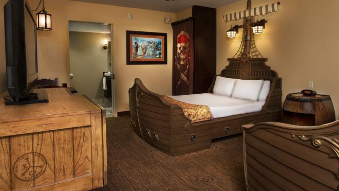 迪士尼加勒比海海灘度假酒店 - 萊克布埃納維斯塔 - 博偉湖 - 臥室