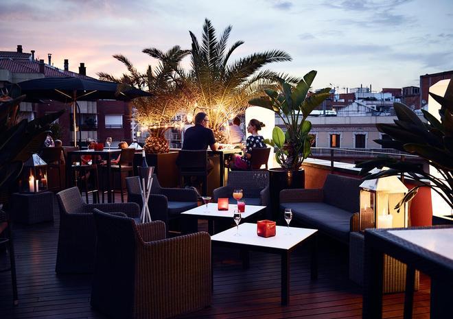 Hotel Villa Emilia - Barcelona - Dachterrasse