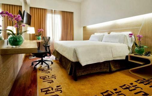 Hilton Garden Inn Rome Claridge - Rome - Phòng ngủ