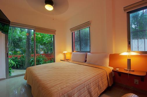 瑪雅海濱度假套房酒店 - 普拉亞卡門 - 臥室