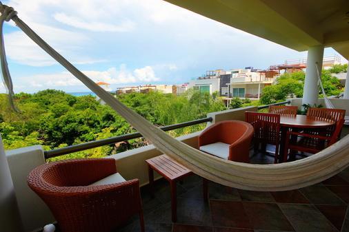 瑪雅海濱度假套房酒店 - 普拉亞卡門 - 陽台