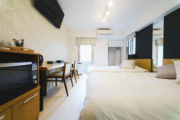 Hotel Axas Nihonbashi - Tokio - Makuuhuone