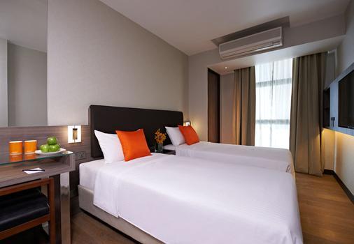 Aqueen Hotel Jalan Besar - Singapore - Phòng ngủ