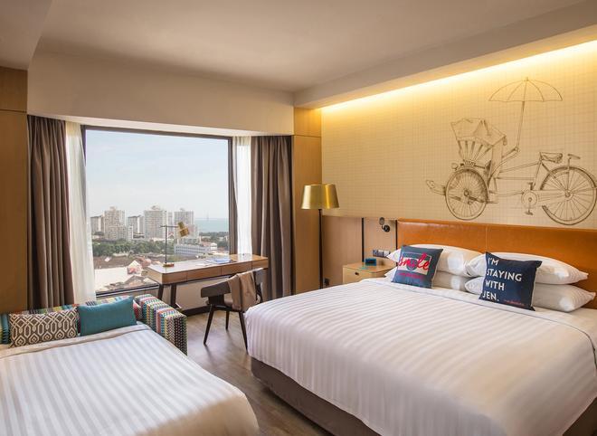 Hotel Jen Penang by Shangri-La - George Town - Bedroom