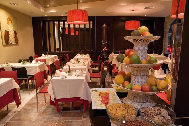 落谷羅諾方知酒店 - 洛格羅諾 - Logrono/洛格羅尼奧 - 餐廳
