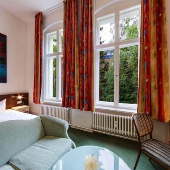 柏林蒂爾加滕酒店 - 柏林 - 柏林 - 臥室