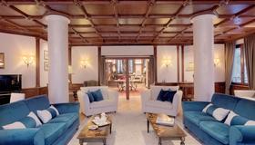 Grand Hôtel des Alpes - Chamonix - Sala de estar