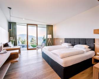 Hotel Belvedere - San Genesio Atesino/Jenesien - Slaapkamer