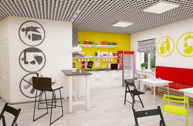 Maxi House Hostel - Rostov on Don - Kitchen