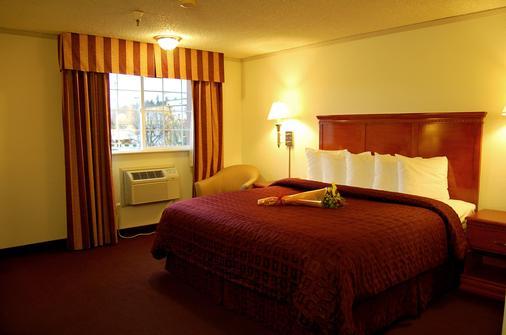 Clarion Hotel - Renton - Bedroom