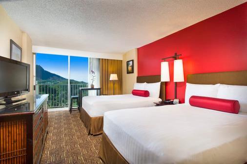 阿斯頓威基基海灘酒店 - 檀香山 - 臥室