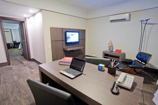 Slaviero Essential Curitiba Centro - Curitiba - Living room