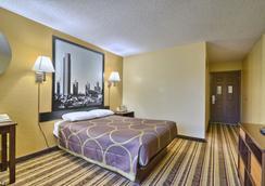 Super 8 by Wyndham Latham/Albany Troy Area - Latham - Bedroom