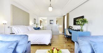 サンティアゴ デ アルファマブティック ホテル - リスボン - 寝室