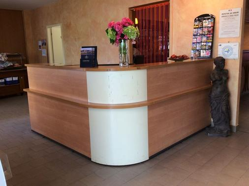 Hotel La Vigne - La Roche-Posay - Front desk