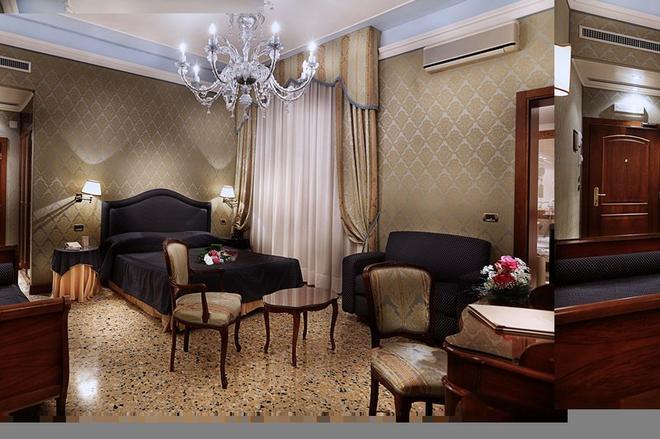 Hotel Colombina - Венеция - Спальня