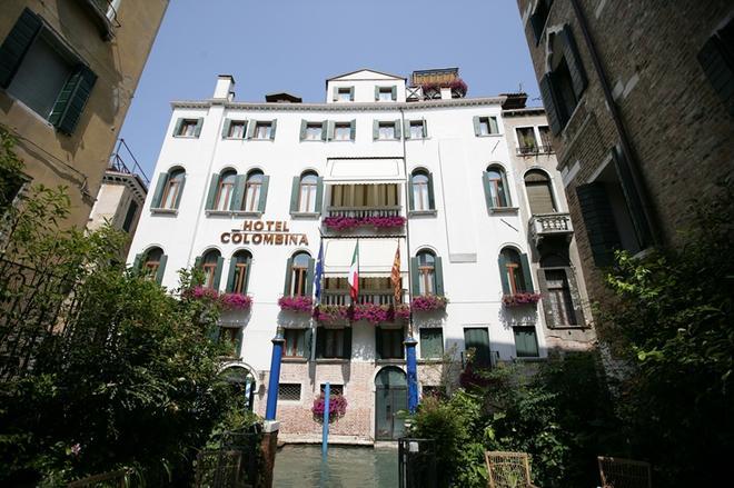 Hotel Colombina - Венеция - Здание