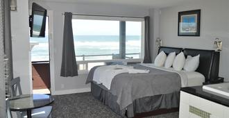 Beachfront Manor Hotel - לינקולן סיטי - חדר שינה