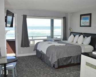 Beachfront Manor Hotel - Lincoln City - Bedroom