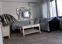 Odysseys House - Fira - Sala de estar