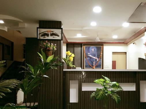 Hotel Disha Palace - Shirdi - Front desk