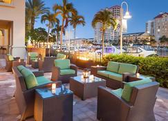 Tampa Marriott Water Street - Tampa - Binnenhof
