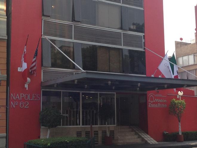 左拉羅莎米西翁快捷酒店 - 墨西哥城 - 墨西哥城 - 建築